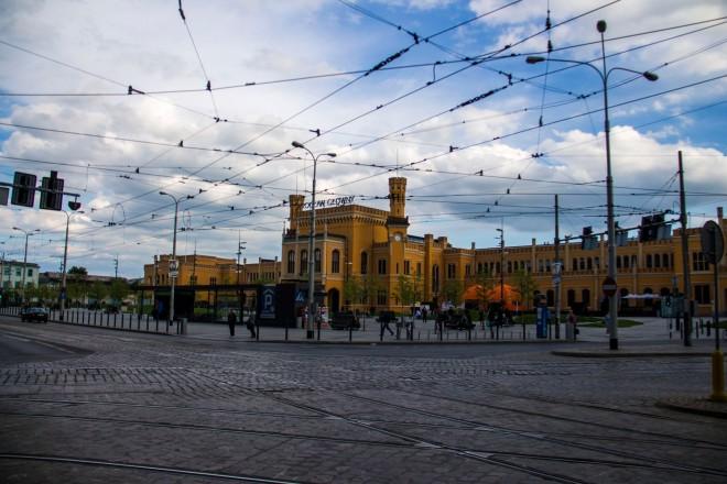 La estación de trenes de Wrocław, otro punto interesante a visitar.