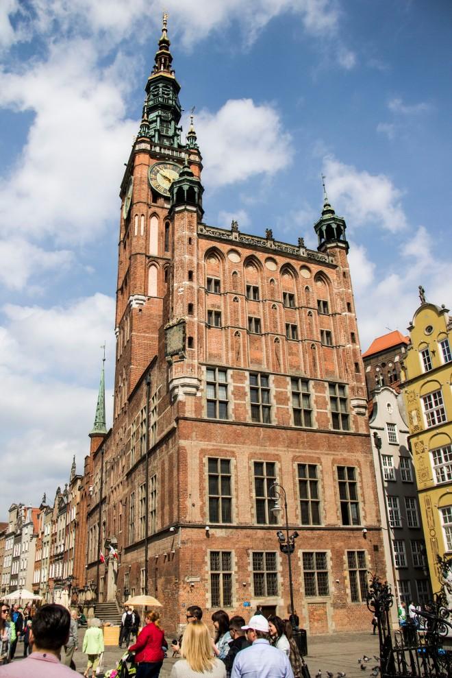 El ayuntamiento de Gdansk