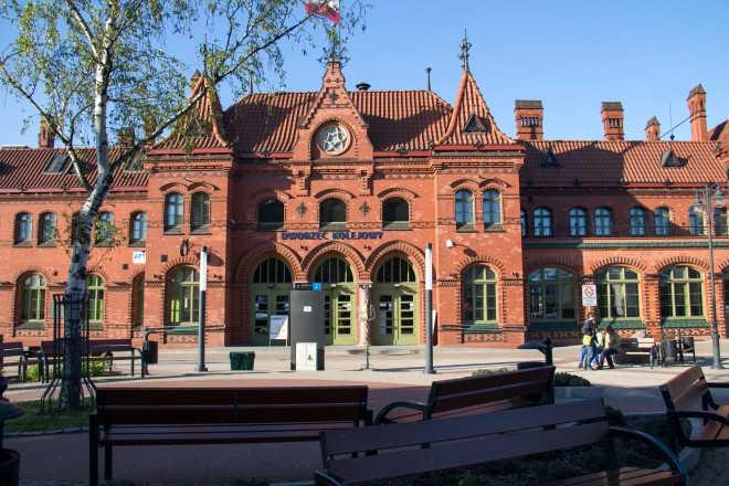 Estación de tren de Malbork