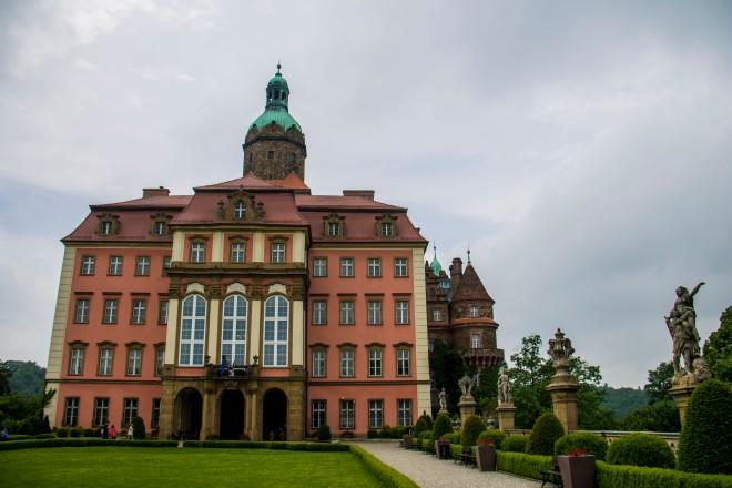 El castillo (Zamek, en polaco) que vamos a visitar hoy