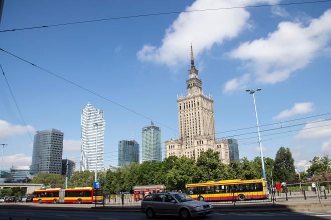 El centro de Varsovia